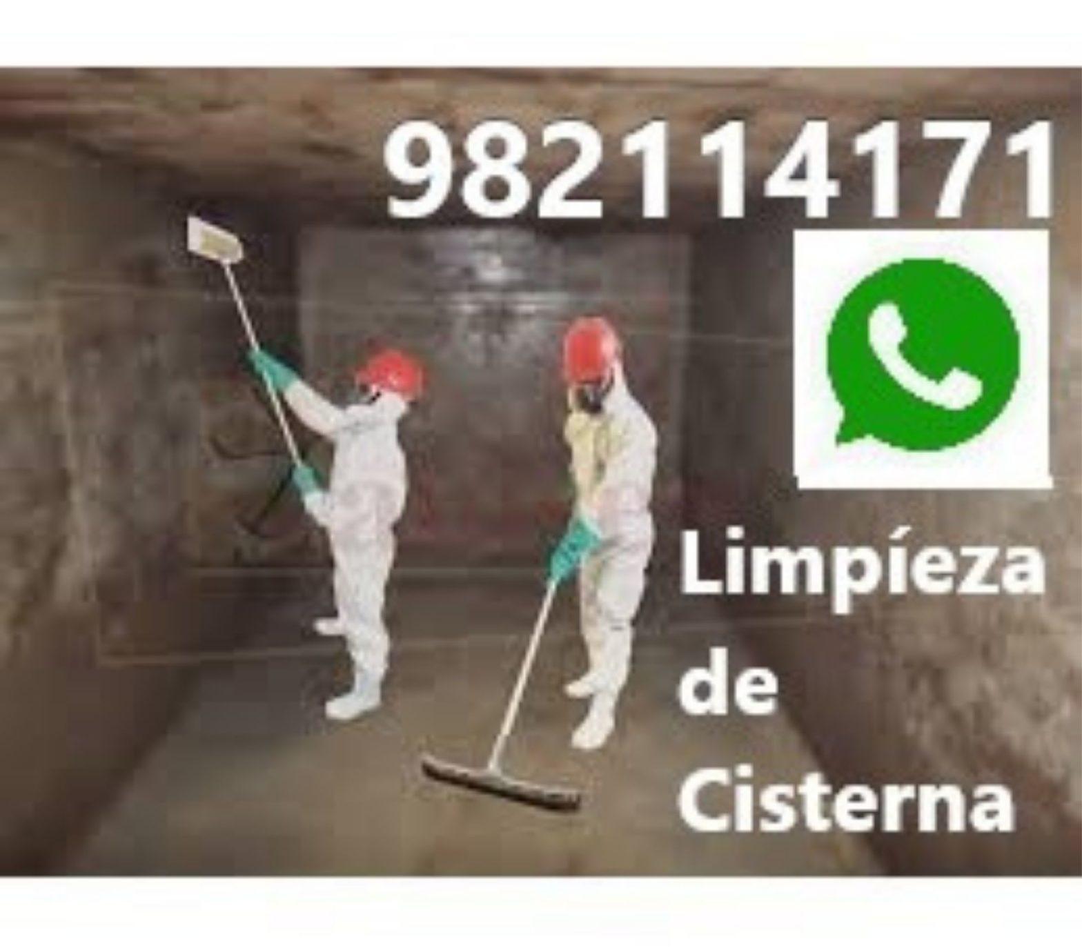 Limpieza de Cisterna en San Borja