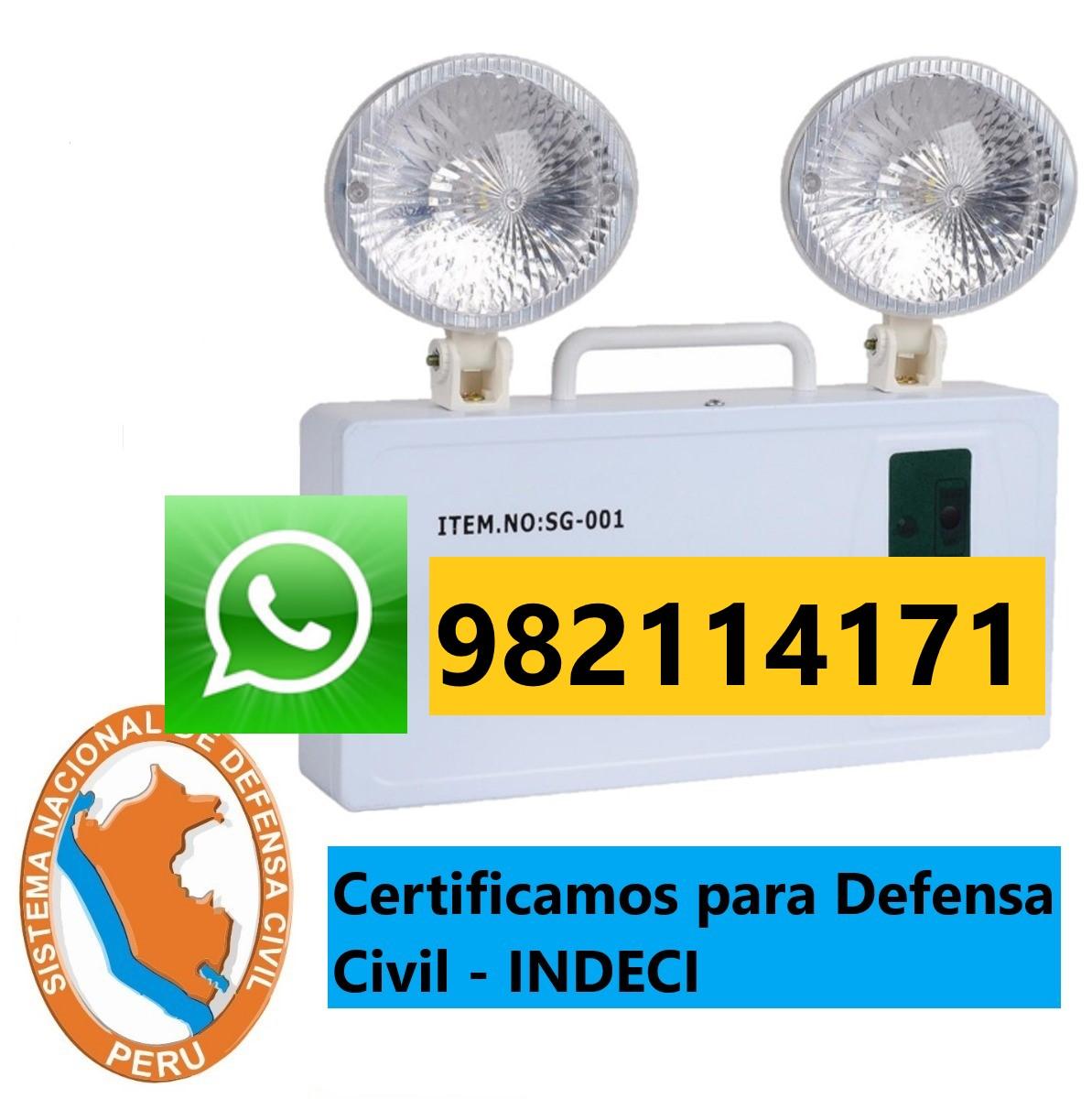 Mantenimiento, Instalacion, Certificado de Luces de Emergencia en San isidro, Miraflores, Surco, San Borja, La Molina, Lima, Callao