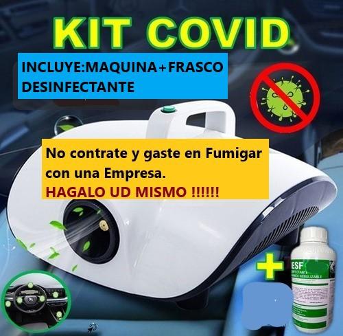 Termonebulizadora COVID 19 Fumigación, Desinfección en Lima, Callao, Surco, Miraflores, la Molina, San Borja, San Isidro