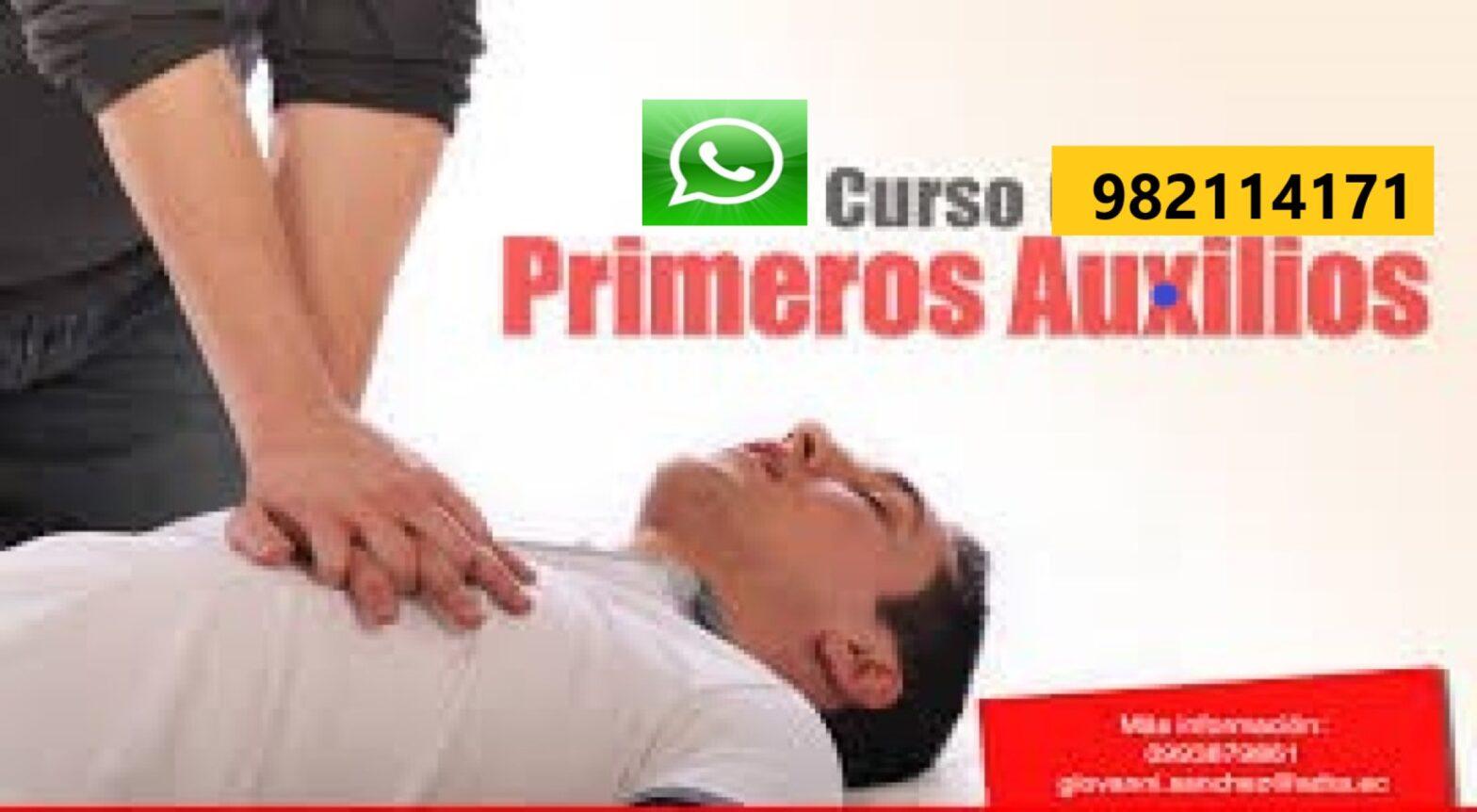 Capacitación, Curso en Primeros Auxilios, Respiración Cardiovascular y Manejo de Extintores Certificado en Lima, Callao
