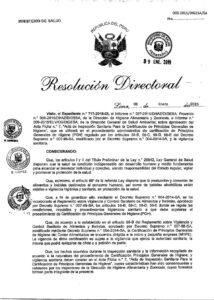 DESINFECTANTE AMONIO CUATERNARIO LIMA